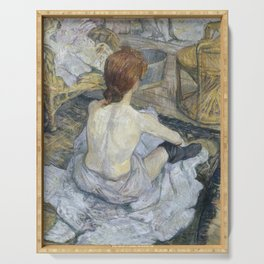 """Henri de Toulouse-Lautrec """"Rousse (La Toilette)"""" Serving Tray"""