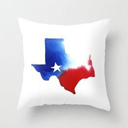 Texas Forever Throw Pillow