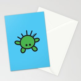 Green Monster Stationery Cards