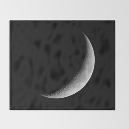 Crescent Moon Throw Blanket