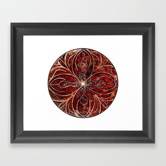 The Ancient Sex Gong Framed Art Print