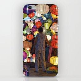 Colored lanterns iPhone Skin