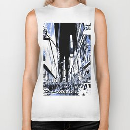Times Square Art Biker Tank