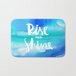 Rise & Shine [Collaboration with Jacqueline Maldonado] Bath Mat
