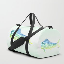 Tribal Mahi Mahi Duffle Bag