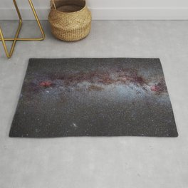 North America Nebula: the Milky way, from Cygnus to Perseus and Andromeda galaxy. Rug