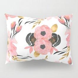 Night Meadow on White Pillow Sham