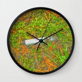 Nature's Casserole Wall Clock