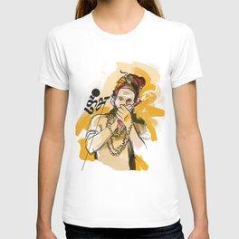 Kumbh Mela India Sadhu T-shirt