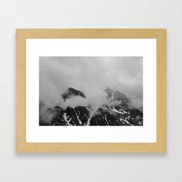 Farther Slopes: II Framed Art Print