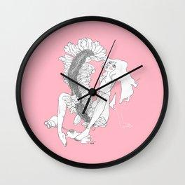 Fasciation I Wall Clock
