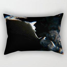 Smoky face Rectangular Pillow