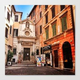Hidden treasures of Rome Canvas Print