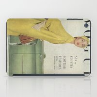 vogue iPad Cases featuring VOGUE 1950 by SUNLIGHT STUDIOS  Monika Strigel