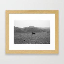 Ranch Three Framed Art Print