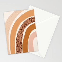 Earth Color Rainbow Stationery Cards