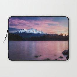 Sublime a sunrise at Lake Siskiyou with Mt. Shasta Laptop Sleeve