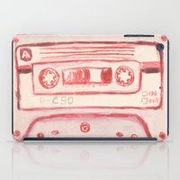 tape iPad Cases featuring tape by muskawo