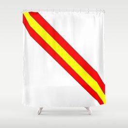 Flag of spain 7-spain,espana, spanish,plus ultra,espanol,Castellano,Madrid,Barcelona Shower Curtain