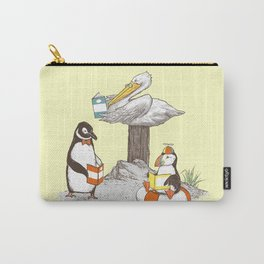 Birds of Literacy Carry-All Pouch