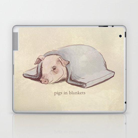 Pigs In Blankets Laptop & iPad Skin