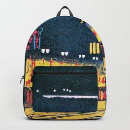 Spring Ginza Night View - Digital Remastered Edition Backpack