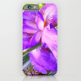 In Honor Of An Amazing Father: My Dad's Iris iPhone Case