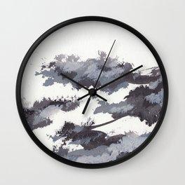 clouds_november Wall Clock