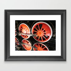 Locomotive Framed Art Print