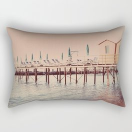 Sorrento pier Rectangular Pillow