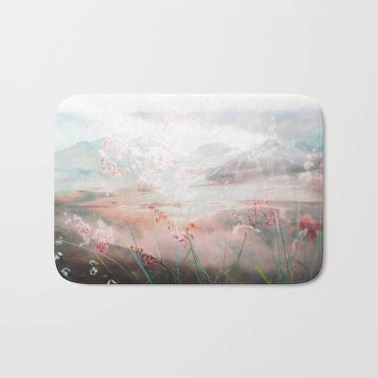 Melting Petals Bath Mat