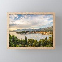 Cavtat, Croatia Framed Mini Art Print