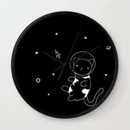 AstroCat Wall Clock