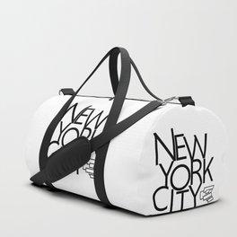 New York City - Building Sideways - 57 Montgomery Ave Duffle Bag