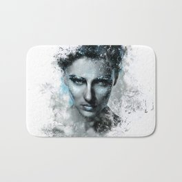 Inked #2 Bath Mat