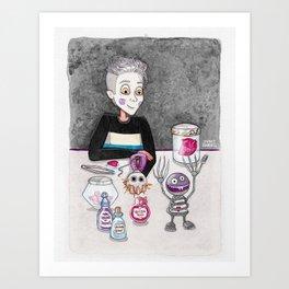ZaidKenstein Art Print