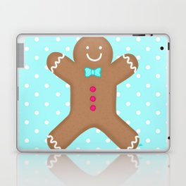 Yummy Gingerbread Man Cookie Laptop & iPad Skin