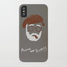 Melvin Van Peebles Minimalist Portrait Slim Case iPhone X