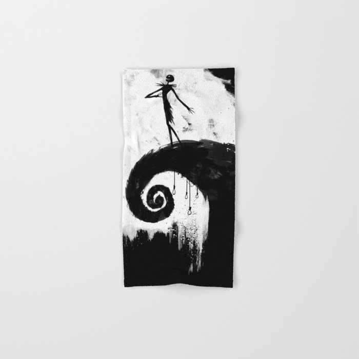 All Hallow's Eve Hand & Bath Towel