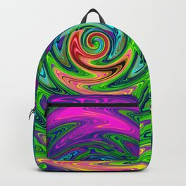 Psychedelic Journey of Colours Backpack
