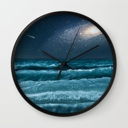 The Milky Way Express Wall Clock