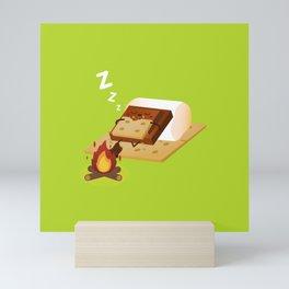 Sleeping S'more Mini Art Print