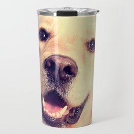 Home Is Where Your Golden Is Travel Mug