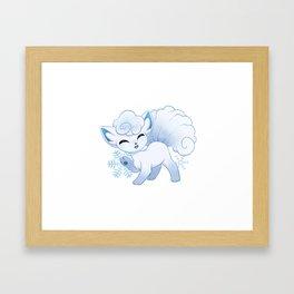 Alola! ~ Vulpix Framed Art Print