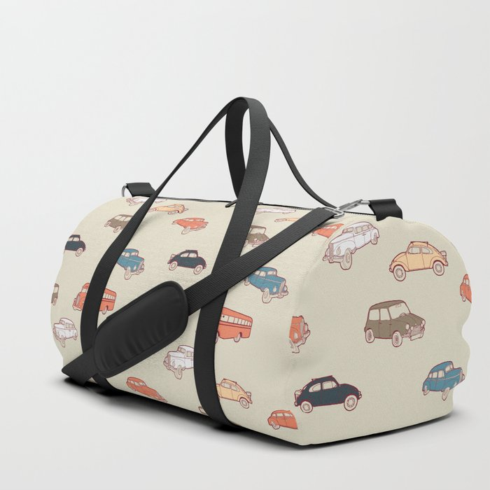 Retro cars. Duffle Bag
