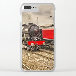 Scot vs Shed Clear iPhone Case