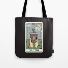(BLACK) COFFEE READING Tote Bag