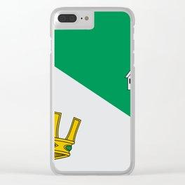 Villanueva Flag Clear iPhone Case