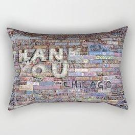 Thank you | Noriko Aizawa Buckles Rectangular Pillow