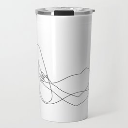 sleeping nudity Travel Mug